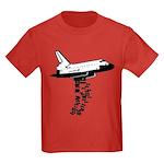NASA Preemptive Strike Kids Dark T-Shirt