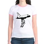 NASA Preemptive Strike Jr. Ringer T-Shirt