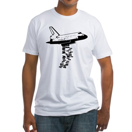 NASA Preemptive Strike Fitted T-Shirt