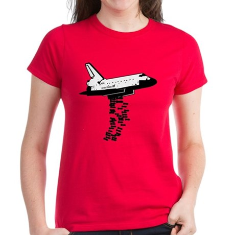NASA Preemptive Strike Women's Dark T-Shirt