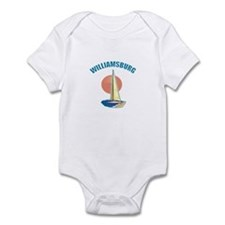 Williamsburg, Virginia Infant Bodysuit