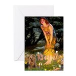 Midsummer / Yorkie Greeting Cards (Pk of 10)