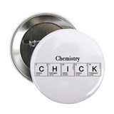 "Chemistry Chick 2.25"" Button (10 pack)"