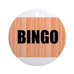 BINGO Ornament (Round)