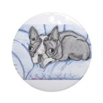 ASHLEYS BOSTON ART Ornament (Round)