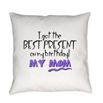best present dad.png Everyday Pillow