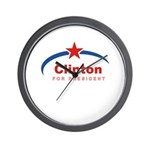 Clinton for President Wall Clock