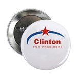 Clinton for President Button