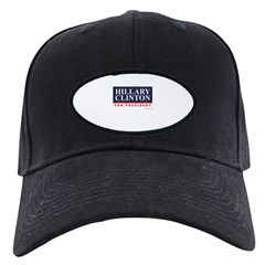 Hillary Clinton for President Black Cap