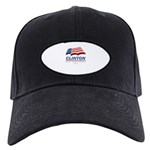 Clinton for President Black Cap