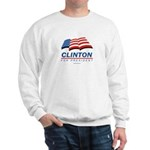 Clinton for President Sweatshirt