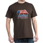 Clinton for President Dark T-Shirt