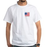 Vote for Clinton White T-Shirt