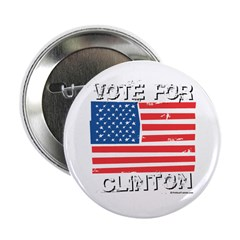 "Vote for Clinton 2.25"" Button (10 pack)"