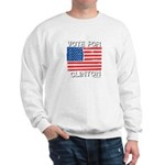 Vote for Clinton Sweatshirt
