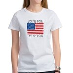 Vote for Clinton Women's T-Shirt