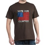 Vote for Clinton Dark T-Shirt