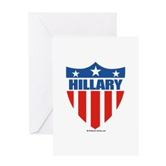 Hillary Clinton Greeting Card