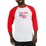 Hillary for President Baseball Jersey
