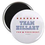 Team Hillary Magnet