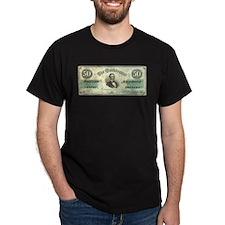 Confederate $50 Bill T-Shirt