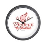 Giuliani for President Wall Clock