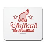Giuliani for President Mousepad
