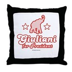Giuliani for President Throw Pillow
