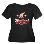 Giuliani for President Women's Plus Size Scoop Nec