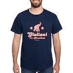 Giuliani for President Dark T-Shirt