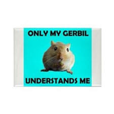 GERBIL Rectangle Magnet (10 pack)