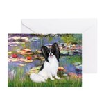 Lilies (2) & Papillon Greeting Cards (Pk of 20)
