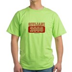 Giuliani 2008 Green T-Shirt