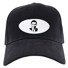 Barack Obama Face Black Cap