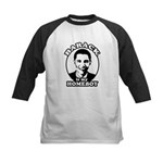 Barack Obama is my homeboy Kids Baseball Jersey