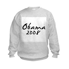 Obama Autograph Kids Sweatshirt