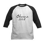 Obama Autograph Kids Baseball Jersey