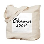 Obama Autograph Tote Bag