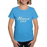 Obama Autograph Women's Dark T-Shirt