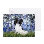 Lilies (#6) & Papillon Greeting Cards (Pk of 20)