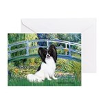Bridge & Papillon Greeting Card