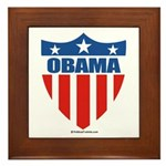 Obama Framed Tile