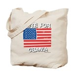 Vote for Obama Tote Bag