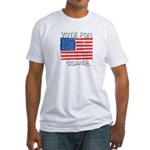 Vote for Obama Fitted T-Shirt
