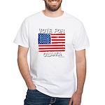 Vote for Obama White T-Shirt