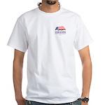 Obama for President White T-Shirt
