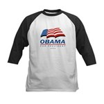 Obama for President Kids Baseball Jersey