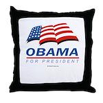 Obama for President Throw Pillow