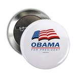Obama for President Button
