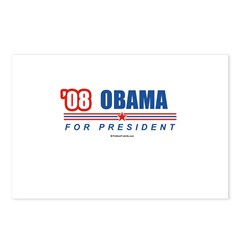 Obama 08 Postcards (Package of 8)